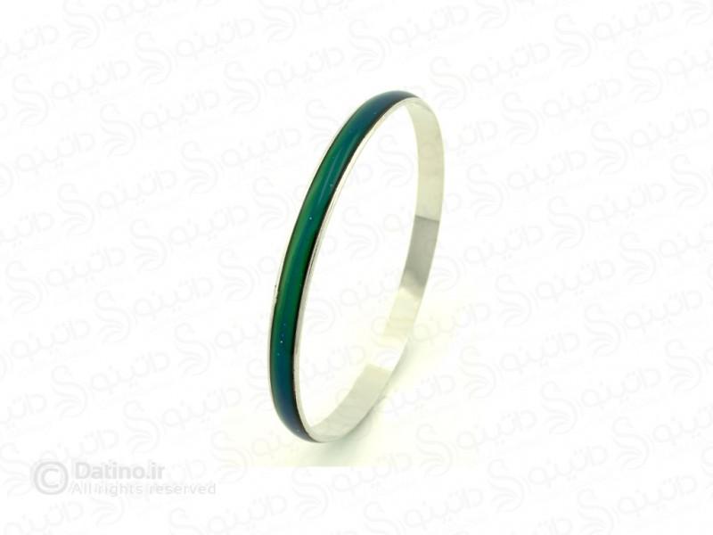 عکس دستبند زنانه النگویی جادویی ساده 10082 - انواع مدل دستبند زنانه النگویی جادویی ساده 10082