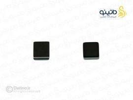 گوشواره مگنتی طرح مربع benli-e-4