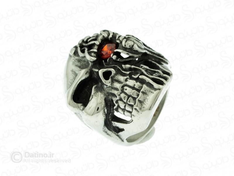 عکس انگشتر مردانه جمجمه دیفانکت-Gomaya.R.9 - انواع مدل انگشتر مردانه جمجمه دیفانکت-Gomaya.R.9