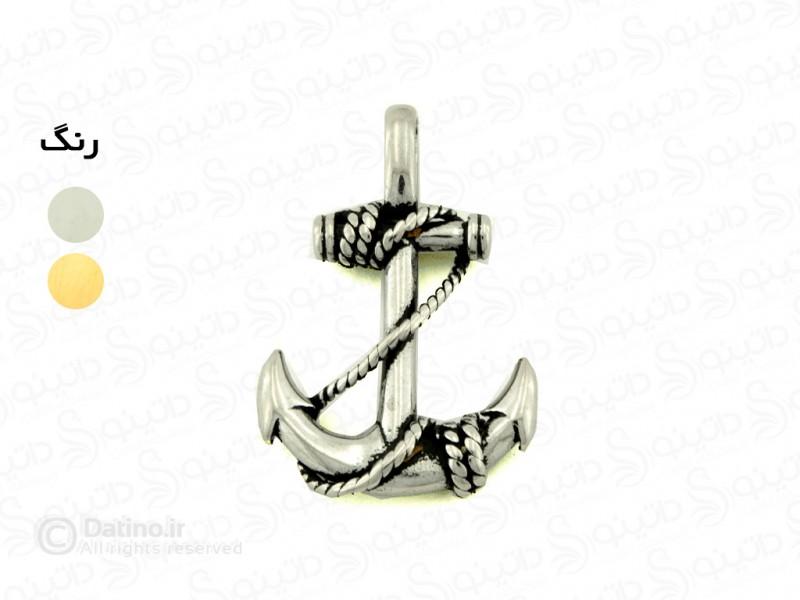 عکس گردنبند مردانه لنگر کشتی xiaonuo-n-104 - انواع مدل گردنبند مردانه لنگر کشتی xiaonuo-n-104