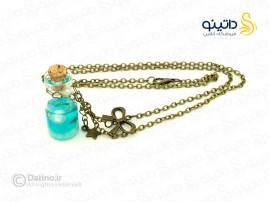 گردنبند زنانه شیشه ای بطری دریایی-Toxic.N.81