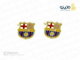 دکمه سردست هواداری بارسلونا fan-c-3