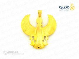 گردنبند مردانه عقاب مصری kalen-n-4