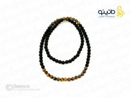 نیم ست مردانه تسبیح چشم ببر jewellery-10019