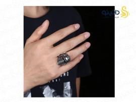 انگشتر مردانه  مرد نقاب دار 10079