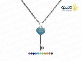 گردنبند جادویی طرح کلید قلب 10081