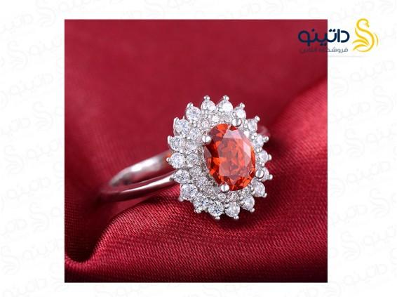 عکس انگشتر زنانه یاقوت سرخ کانزیست الیزابت-Royal.R.97 - انواع مدل انگشتر زنانه یاقوت سرخ کانزیست الیزابت-Royal.R.97