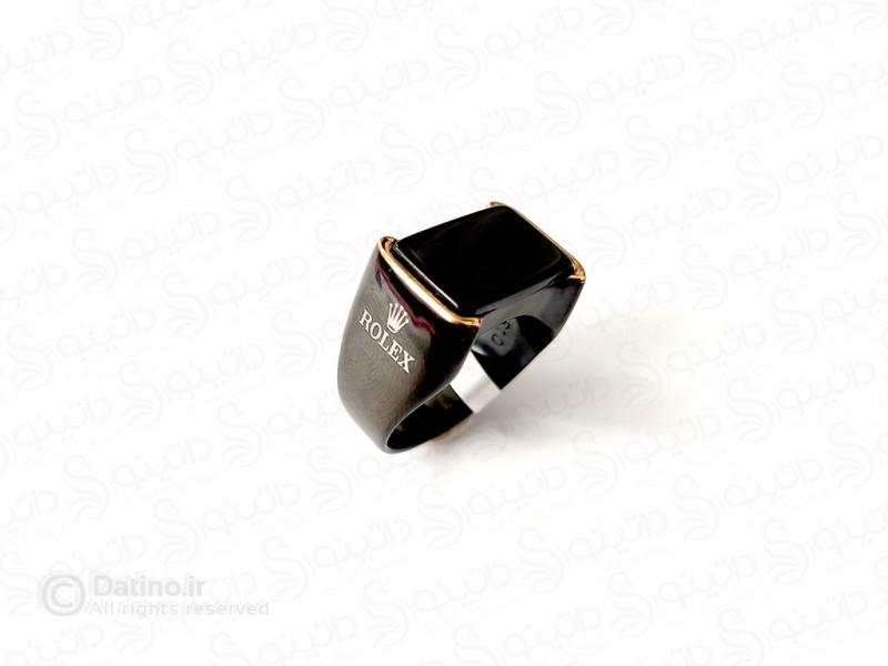 عکس انگشتر مردانه لوکس رولکس بردمن 11742 - انواع مدل انگشتر مردانه لوکس رولکس بردمن 11742