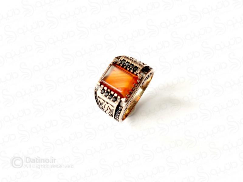 عکس انگشتر مردانه سنتی پژدو 11749 - انواع مدل انگشتر مردانه سنتی پژدو 11749