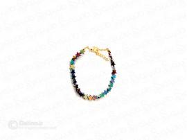 دستبند زنانه طرح ستاره های کوچک آسمان 11780