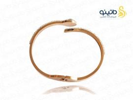 دستبند زنانه استیل مار مصری 11805