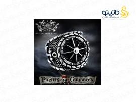 انگشتر مردانه دزدان دریایی کارائیب لنگر و قطب نما 11929