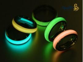 حلقه شب تاب ساده رنگی 12150