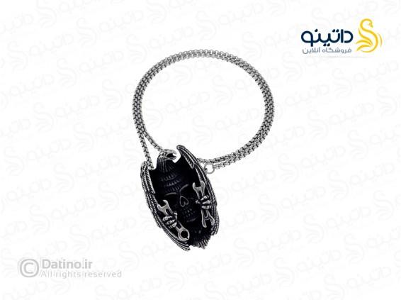 عکس گردنبند عقاب و جمجمه مکانیک 12162 - انواع مدل گردنبند عقاب و جمجمه مکانیک 12162