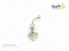 پیرسینگ ناف طرح قلب piercing-10003