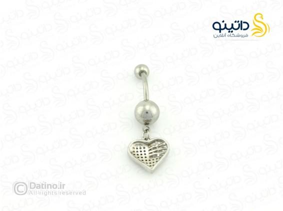عکس پیرسینگ ناف طرح قلب piercing-10003 - انواع مدل پیرسینگ ناف طرح قلب piercing-10003