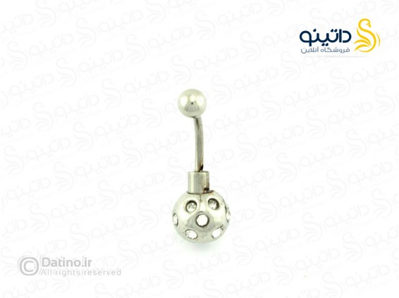 عکس پیرسینگ ناف طرح بمب نگین دار piercing-10007 - انواع مدل پیرسینگ ناف طرح بمب نگین دار piercing-10007