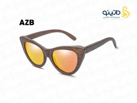 عینک آفتابی زنانه چوبی سینامون azb-ew-1