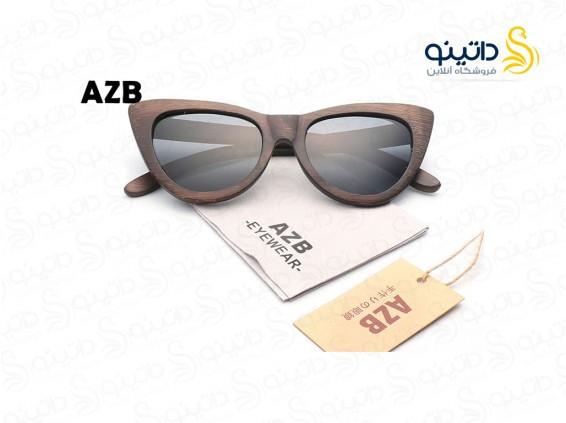 عکس عینک آفتابی زنانه چوبی سینامون azb-ew-1 - انواع مدل عینک آفتابی زنانه چوبی سینامون azb-ew-1
