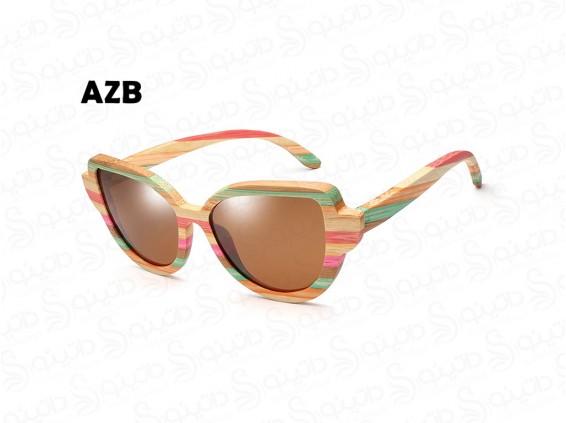 عکس عینک آفتابی زنانه چوبی دیلایت azb-ew-2 - انواع مدل عینک آفتابی زنانه چوبی دیلایت azb-ew-2