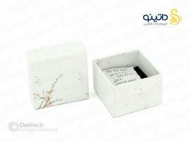 جعبه انگشتر طرح گل آرلیس box-19