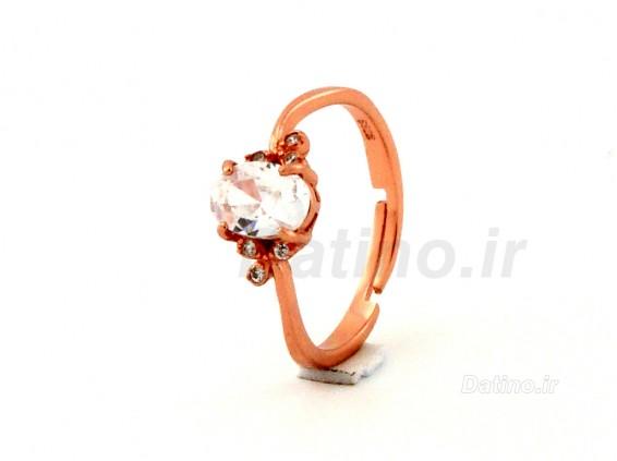عکس انگشتر زنانه نقره  مریسا-Datino.R.20 - انواع مدل انگشتر زنانه نقره  مریسا-Datino.R.20