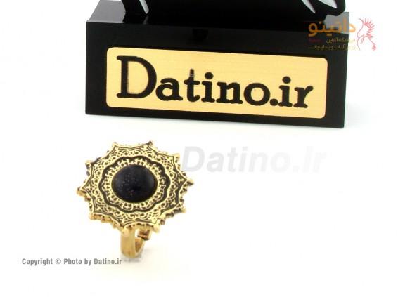 عکس انگشتر زنانه برنجی تارا-Datino.R.22 - انواع مدل انگشتر زنانه برنجی تارا-Datino.R.22