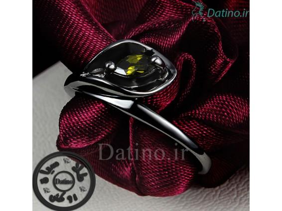 عکس انگشتر زنانه طلا مشکی سلفیش-GARRO.R.6 - انواع مدل انگشتر زنانه طلا مشکی سلفیش-GARRO.R.6