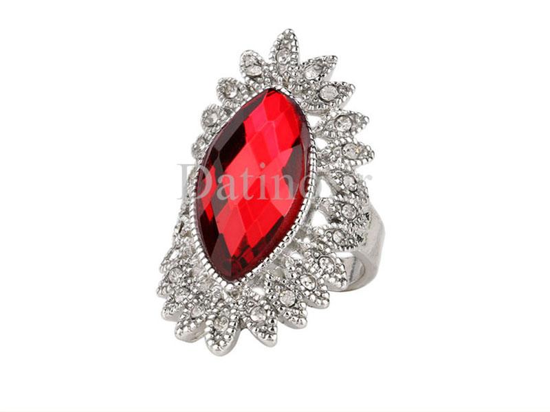 عکس انگشتر زنانه ترکی گل آلریکا-Turkina.R.1 - انواع مدل انگشتر زنانه ترکی گل آلریکا-Turkina.R.1