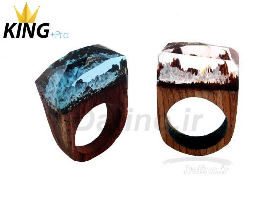 عکس انگشتر زنانه سکرت وود کوهستان رویایی-KingW.R.Pro.1 - انواع مدل انگشتر زنانه سکرت وود کوهستان رویایی-KingW.R.Pro.1