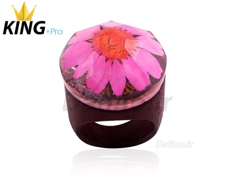 عکس انگشتر زنانه سکرت وود گل بهار-KingW.R.Pro.2 - انواع مدل انگشتر زنانه سکرت وود گل بهار-KingW.R.Pro.2