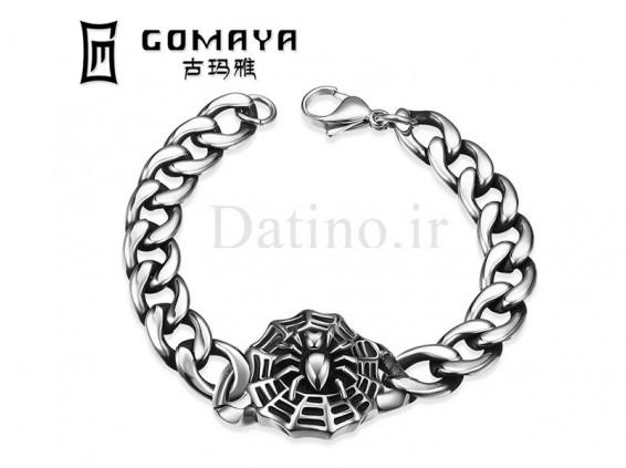 عکس دستبند مردانه مرد عنکبوتی-Gomaya.B.2 - انواع مدل دستبند مردانه مرد عنکبوتی-Gomaya.B.2