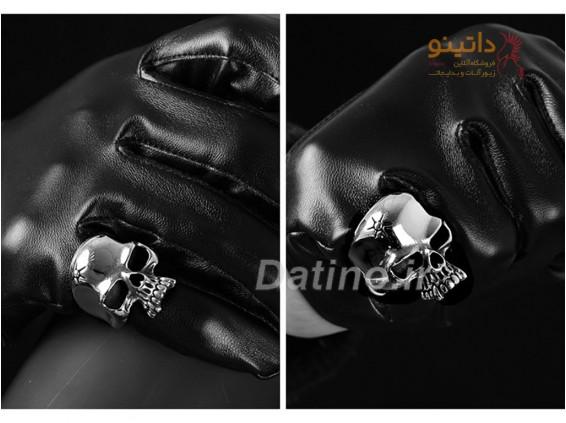 عکس انگشتر مردانه جمجمه بیتن-Gomaya.R.10 - انواع مدل انگشتر مردانه جمجمه بیتن-Gomaya.R.10