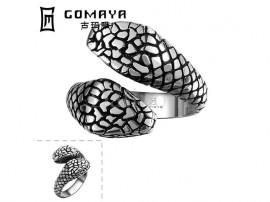 انگشتر مردانه مار کبری-Gomaya.R.2