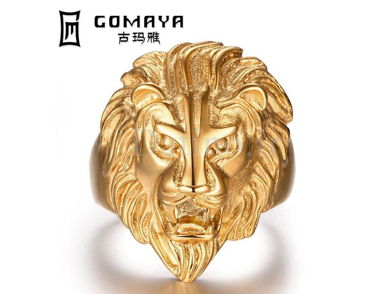 عکس انگشتر مردانه شیرشاه-Gomaya.R.22 - انواع مدل انگشتر مردانه شیرشاه-Gomaya.R.22