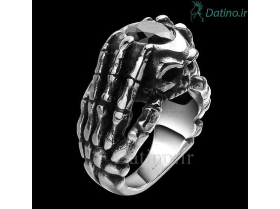 عکس انگشتر مردانه اسکلت مایان-Gomaya.R.29 - انواع مدل انگشتر مردانه اسکلت مایان-Gomaya.R.29