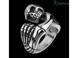 انگشتر مردانه اسکلت مومیایی مایان-Gomaya.R.30