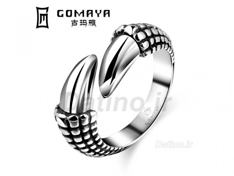 عکس انگشتر مردانه چنگال عقاب-Gomaya.R.31 - انواع مدل انگشتر مردانه چنگال عقاب-Gomaya.R.31