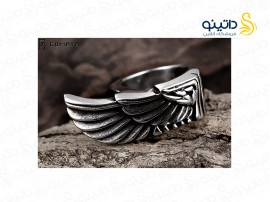 انگشتر مردانه پر عقاب gomaya-r-35