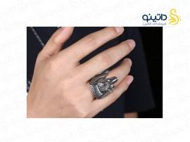 انگشتر مردانه گرگ مصری gomaya-r-37