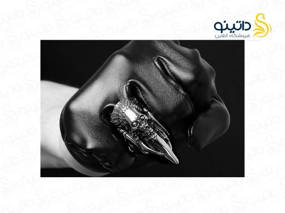 عکس انگشتر مردانه چنگ جنگوی سرخپوستی gomaya-r-39 - انواع مدل انگشتر مردانه چنگ جنگوی سرخپوستی gomaya-r-39