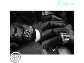 انگشتر مردانه جمجمه در زندان-Gomaya.R.4