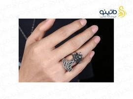 انگشتر مردانه جمجمه وایکینگ gomaya-r-43