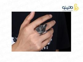 انگشتر مردانه کرگدن کهن gomaya-r-49