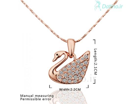 عکس گردنبند زنانه لاو رویی-INALIS.N.1 - انواع مدل گردنبند زنانه لاو رویی-INALIS.N.1
