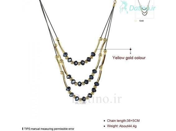 عکس گردنبند زنانه ایمالین-LEKANI.N.14 - انواع مدل گردنبند زنانه ایمالین-LEKANI.N.14
