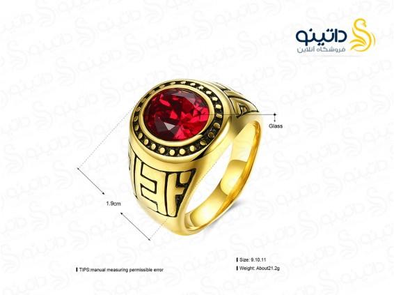 عکس انگشتر مردانه لوکس گرایسون lekani-r-15 - انواع مدل انگشتر مردانه لوکس گرایسون lekani-r-15