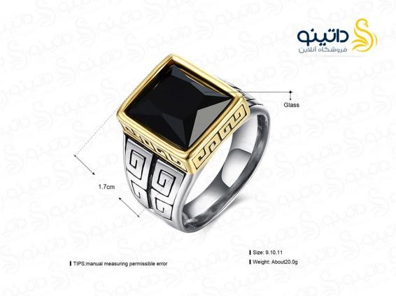 عکس انگشتر مردانه لوکس هامیلتون lekani-r-16 - انواع مدل انگشتر مردانه لوکس هامیلتون lekani-r-16