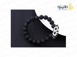 دستبند مردانه دو جمجمه زانتاس xiaonuo-b-3