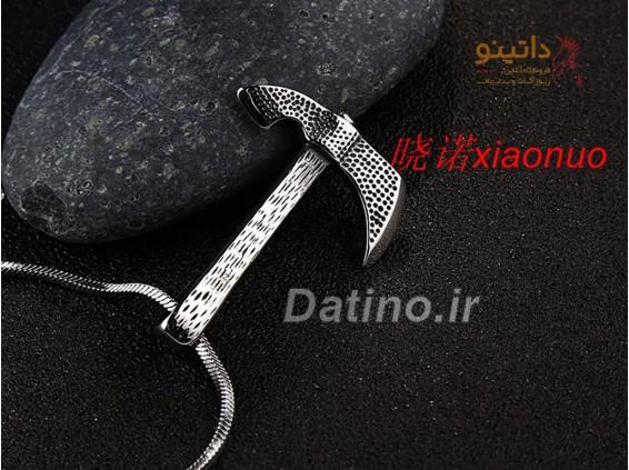 عکس گردنبند مردانه تبر-Xiaonuo.N.11 - انواع مدل گردنبند مردانه تبر-Xiaonuo.N.11